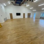 Image for the Tweet beginning: New hall looking amazing! Thank