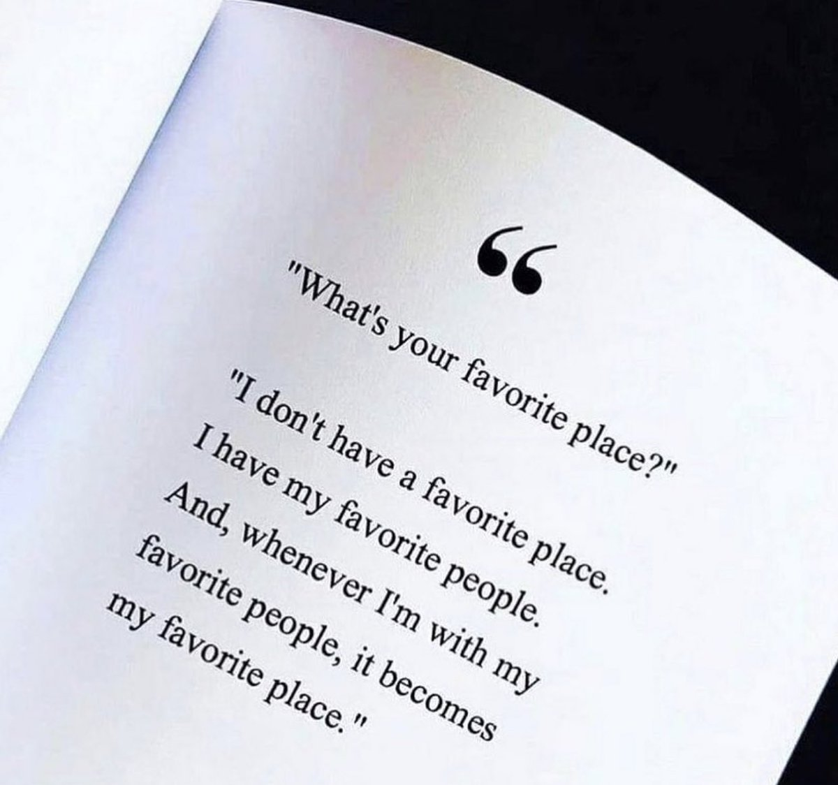 When you are surrounded by the right people, anywhere can become your favourite place. ✨ #quotes