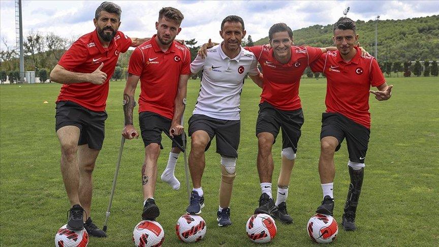 ⚽Son Avrupa şampiyonu ve dünya ikincisi olan Ampute Milli Futbol Takımımıza, 12-19 Eylül tarihleri arasında Polonya'da düzenlenecek olan 2021 Avrupa Şampiyonası'nda başarılar diliyoruz. ❤