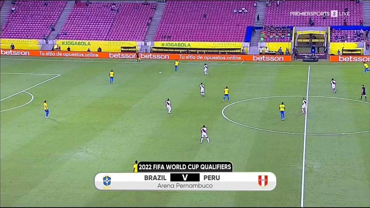 Full match: Brazil vs Peru