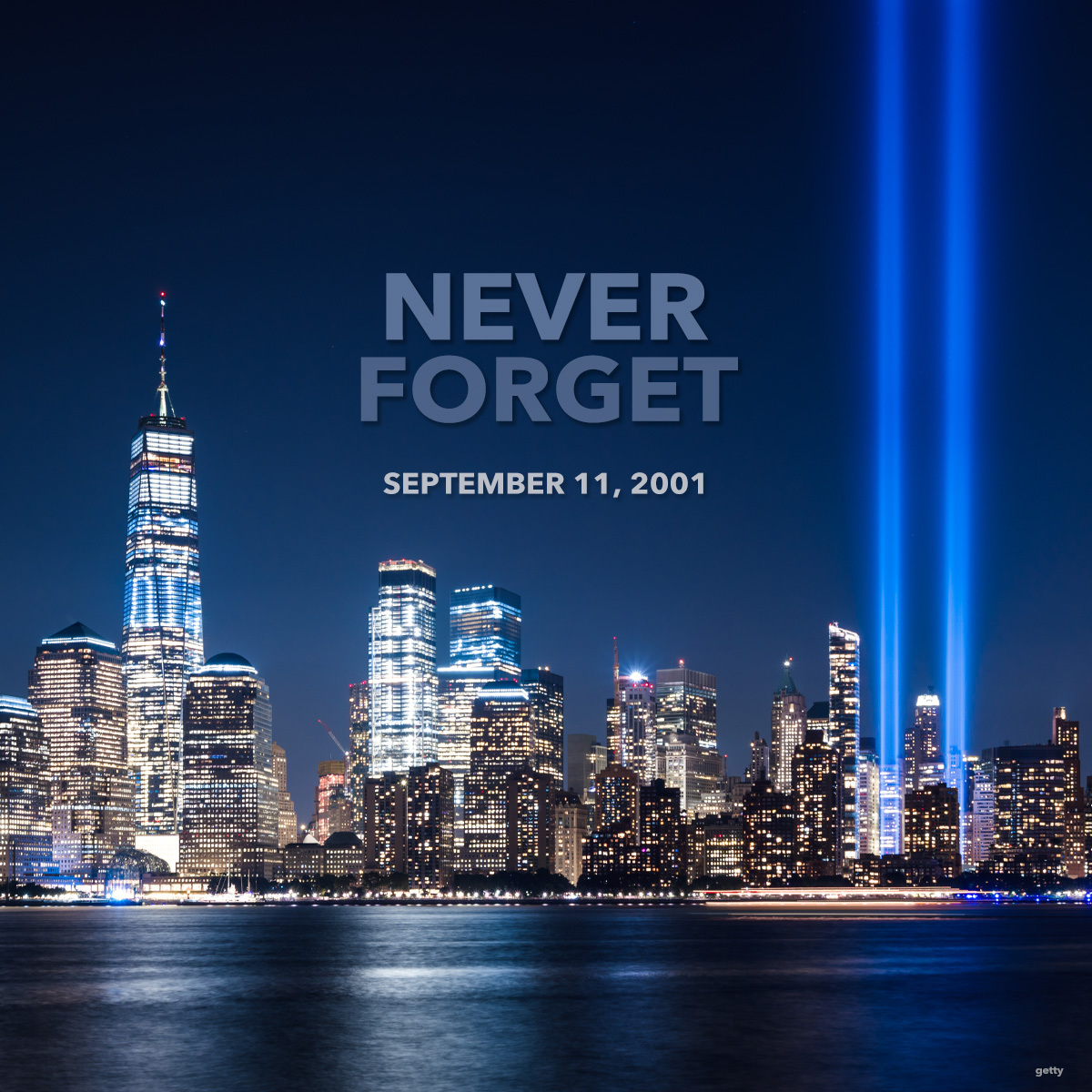 We will always remember #NeverForget