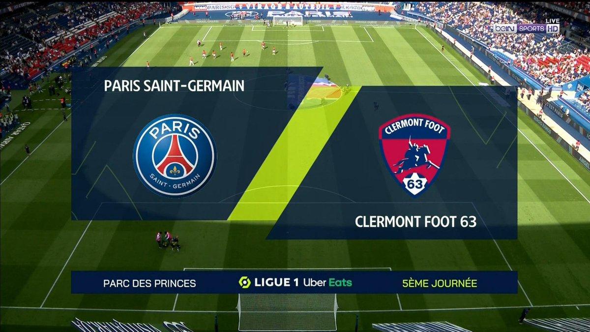 Full match: PSG vs Clermont