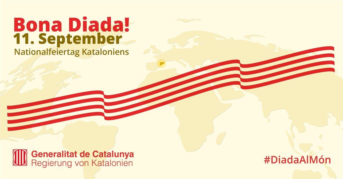 Wir wünschen der katalanischen Community und allen Freundinnen und Freunden Kataloniens einen frohen Nationalfeiertag!  https://t.co/HRD6PpYmmM https://t.co/AQp5Md4QAZ