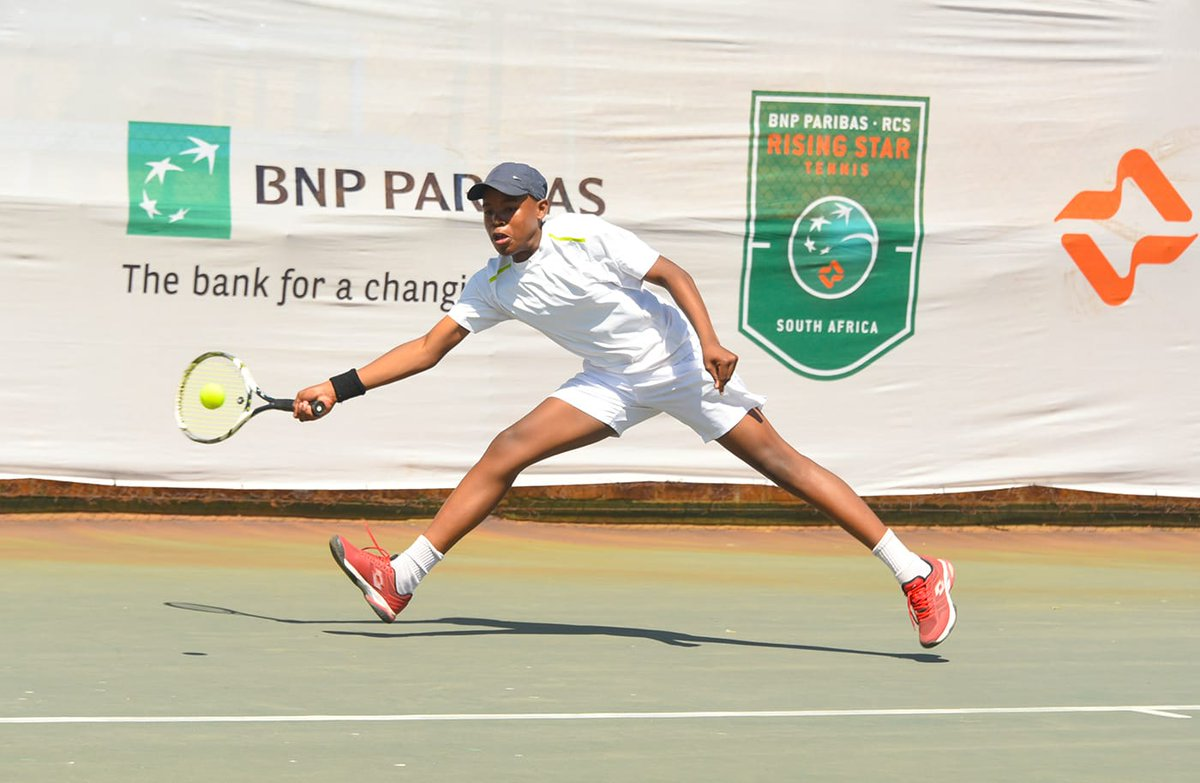Day 1️⃣ ✔ It was an action packed day at the Gauteng Rising Star Tennis Provincial final in Tshwane. Take a look at some nice shots from the day's action. Champions will be crowned on Sunday. #RisingStarTennis