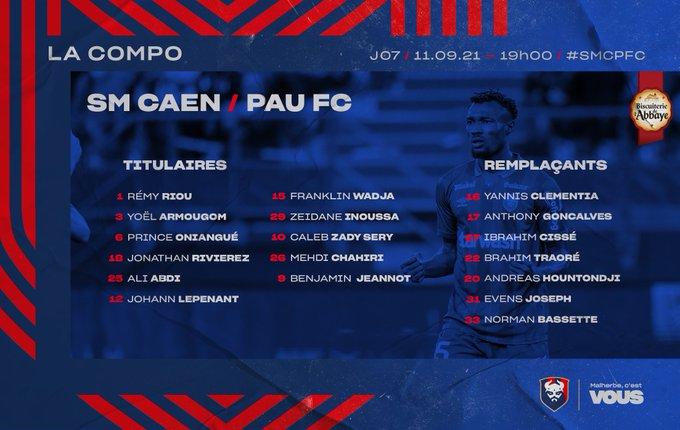 [7è journée de Ligue 2] SM Caen - Pau FC E_BCxVlXMAooxLX?format=jpg&name=small