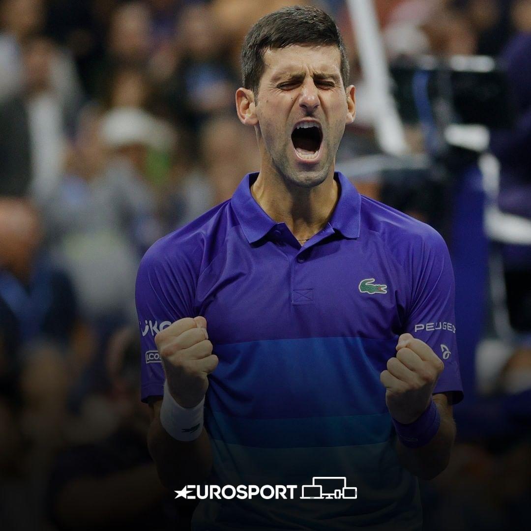 """🗣️ """"Zihinsel olarak tarihte bu oyunu oynayan en iyi oyuncu olduğunu düşünüyorum. En önemli anlarda mental olarak onun dışında herkesle oynamayı tercih ederim.' #USOpen Alexander Zverev, Novak Djokovic hakkında."""