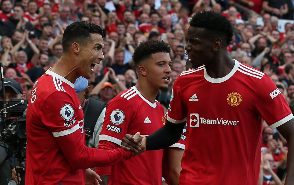 """Paul Pogba on Twitter: """"🗣 Big three points today! 🔴🔥 #MUFC… """""""