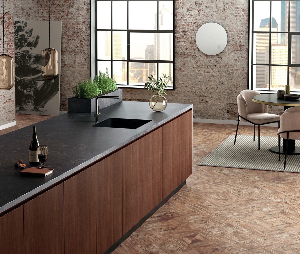Have you discovered our latest Silestone technologies, HybriQ and HybriQ+? First introduced with our Loft collection, they represent a step beyond our commitment to offer the most sustainable products in the market and work towards a better future bit.ly/HybriQ