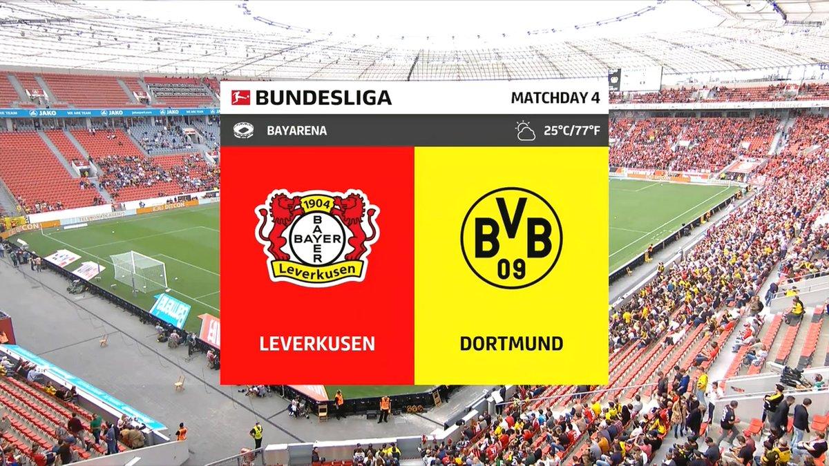 Full match: Bayer Leverkusen vs Borussia Dortmund