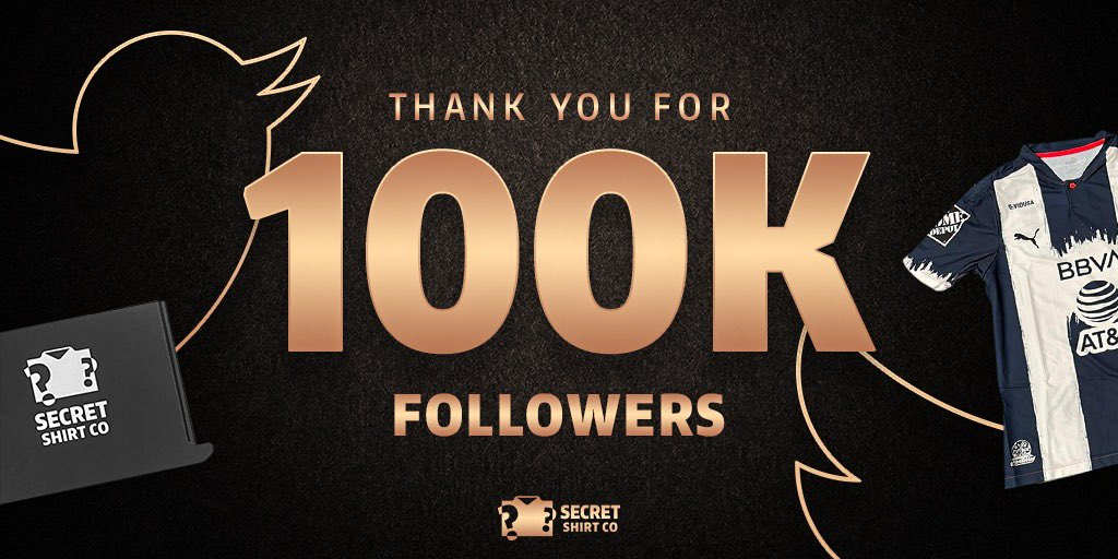Thanks to every single one of you for helping us reach 100,000 followers. This is just the start 💯