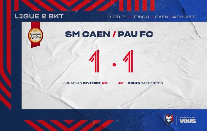 [7è journée de Ligue 2] SM Caen - Pau FC E_Ba3IsXsAUvFoL?format=jpg&name=small