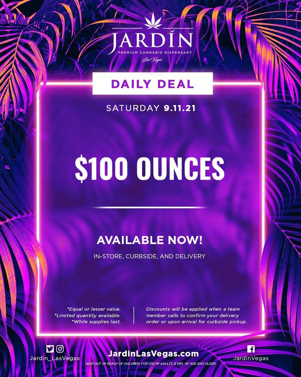 Celebrate Saturday @Jardin_LasVegas