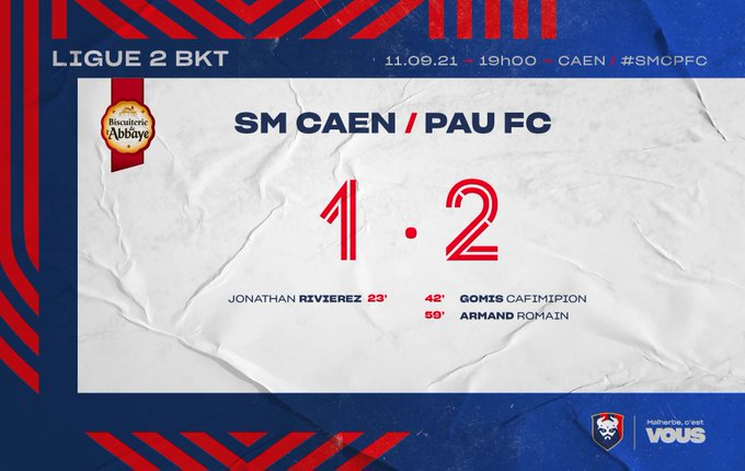 [7è journée de Ligue 2] SM Caen - Pau FC E_Bo0gPXIAIxcfg?format=jpg&name=small