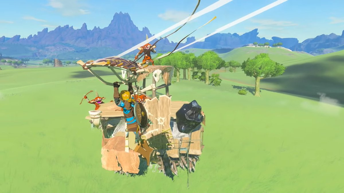 The Legend of Zelda Breath of the Wild 2 looks like a clone of 2017 Breath of the wild... Even the animations are unchanged...
