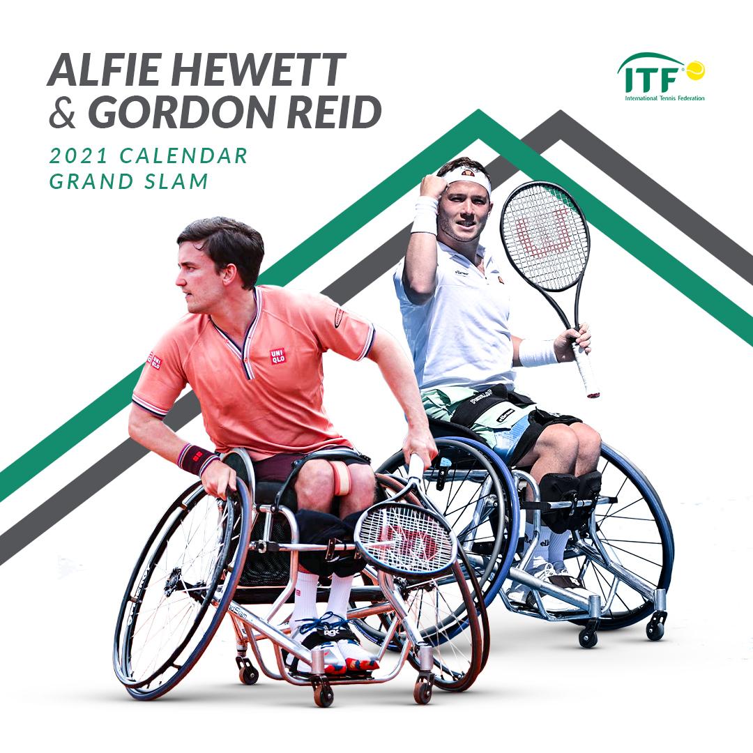 Reid-efining history. A legendary d-Hewett. @GordonReid91 & @alfiehewett6 complete the 2021 Calendar Grand Slam! 🏆🏆🏆🏆 #USOpen