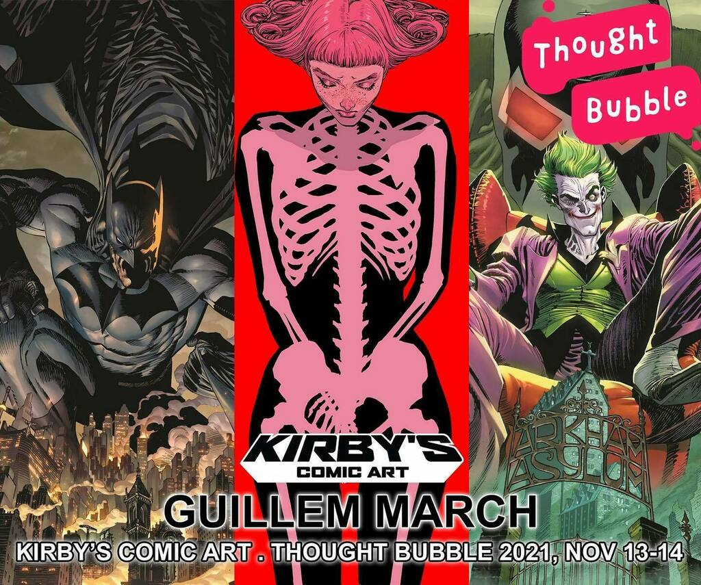 Heyheyhey! I'll be attending @thoughtbubblefestival in UK after 2 years of no conventions. VERY excited to meet readers and fellow artists again! Come find me and say hi at the tables of the @kirbyscomicart team! #Comics #Conventions #ComicFestival #Thou… instagr.am/p/CTsTv5_Mpd-/