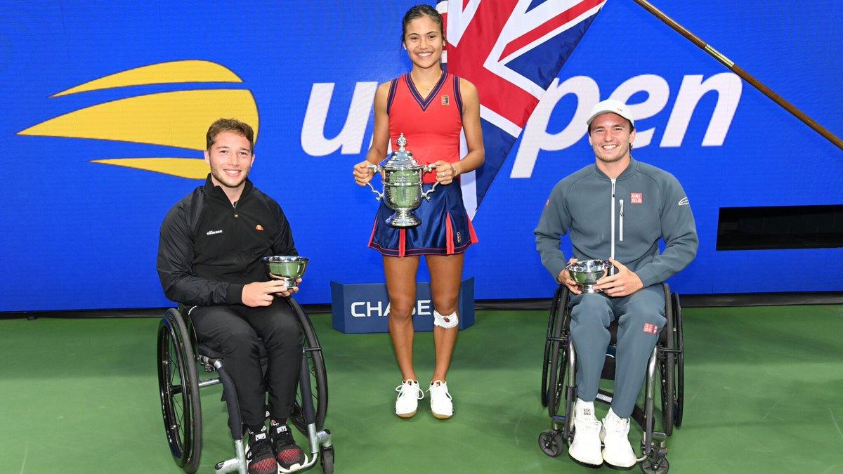 Just a few British Grand Slam champions 🇬🇧🏆😁