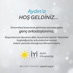 Image for the Tweet beginning: Hoş geldiniz ! ☀️  @iyiparti @meral_aksener @berna_sukas