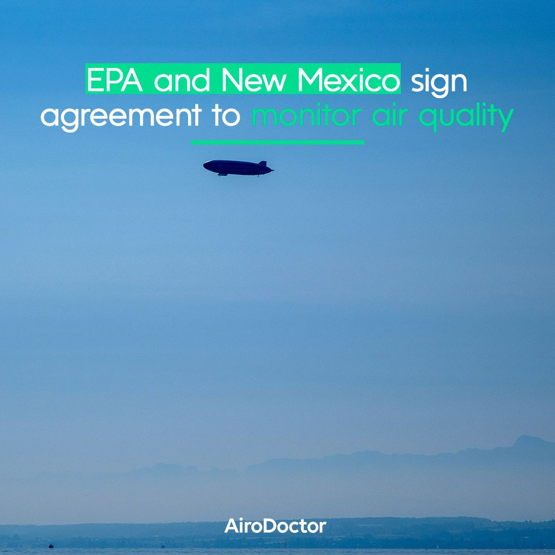 Protecting public health has reached a new level of priority: the Environmental Protection Agency, in conjunction with the state of New Mexico, is developing a research project involving the use of airships to guard and measure air quality.   Learn more: https://t.co/dZMgSL1RLV https://t.co/pd7ATZ6B0c