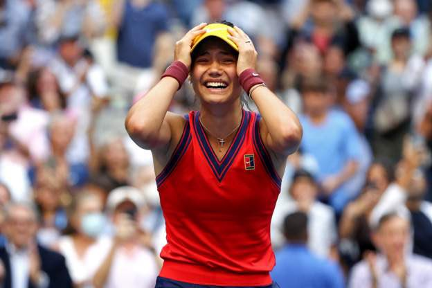 Stuff that dreams are made of. Incredible game. Congratulations @EmmaRaducanu .. #Champion @usopen 🏆 https://t.co/X31Zk5uVkq