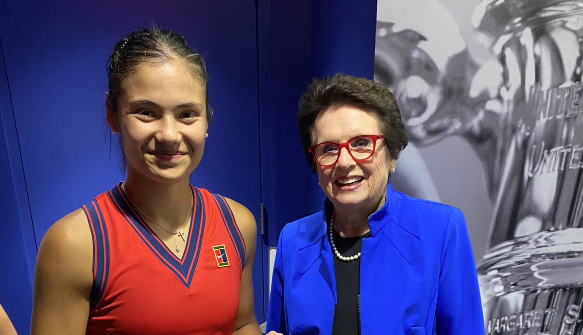 What a terrific display of competition & maturity from two exceptional players. It is wonderful to see this generation living our dream. I can't remember a #USOpen with better crowd support. Thank you, NY, the greatest fans in the world. And congratulations, Emma!