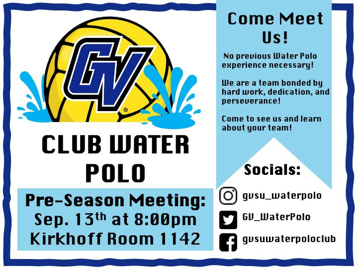 Photo 1 of 2 on twitter from user @GV_WaterPolo.