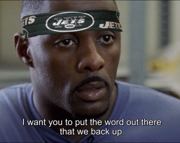 WE BACK🔥✈️  #Jets #JetsTwitter #TakeFlight #NYJvsCAR