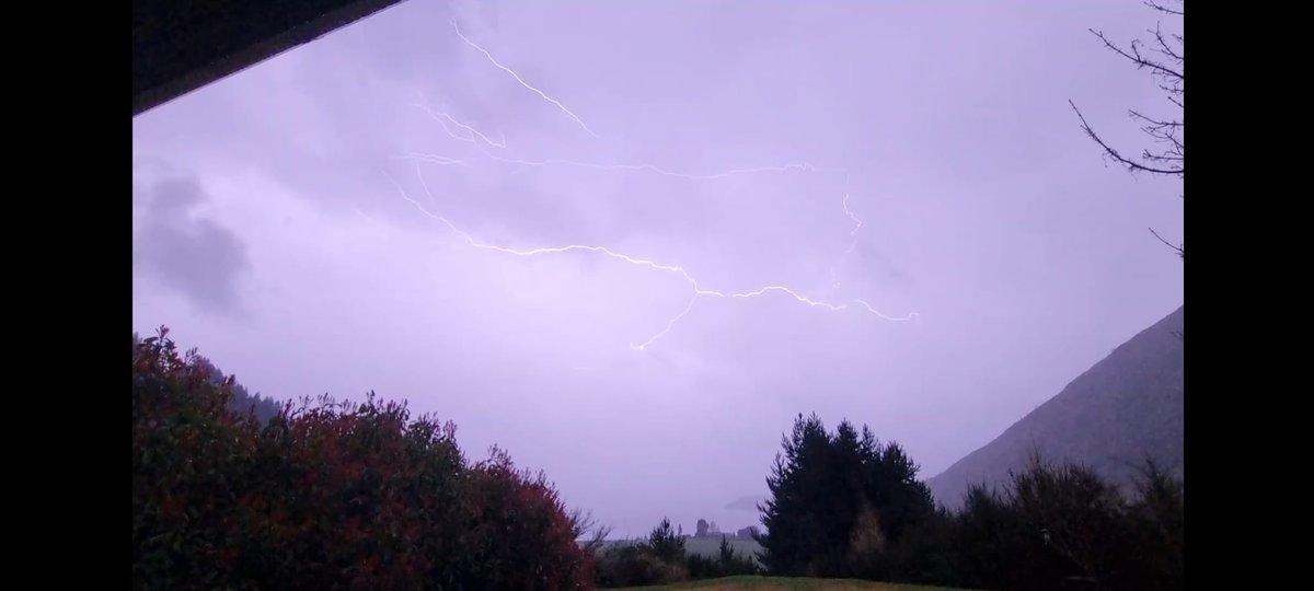 Some wild weather going down tonight in #Queenstown