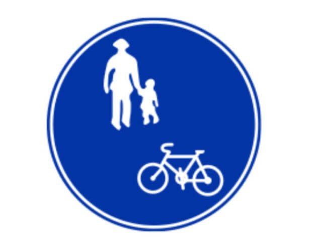 自転車の右側通行は違反ですよ~!ってあれ?!最後のオチが・・・!