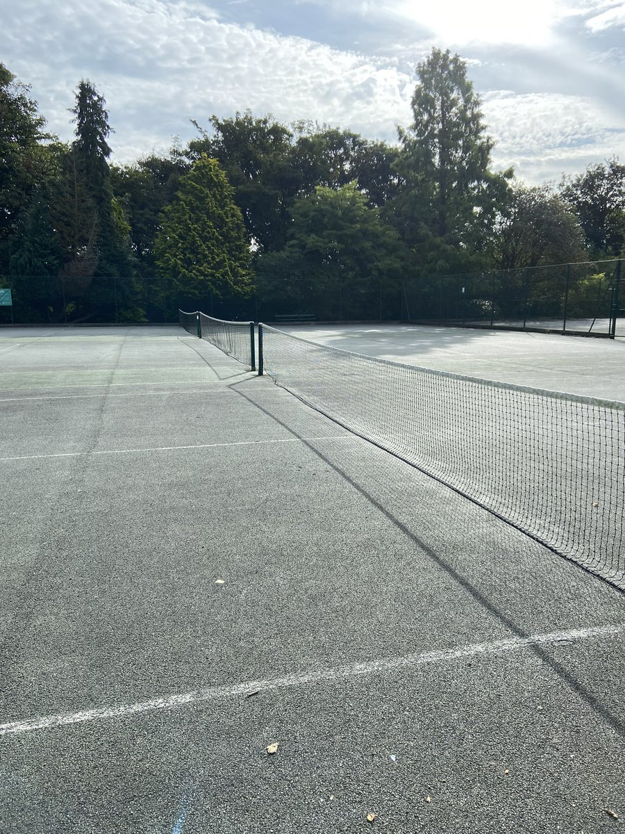 Only one thing to be doing this morning 🎾