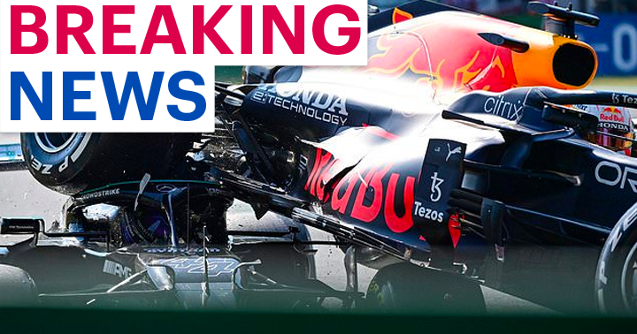 Lewis Hamilton escapes tragedy by inches as title rival's car lands on his HEAD during terrifying crash at Italian Grand Prix trib.al/nFxjgeZ