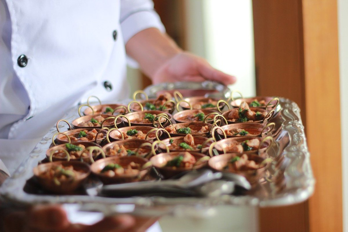 chef, tray, dolmã
