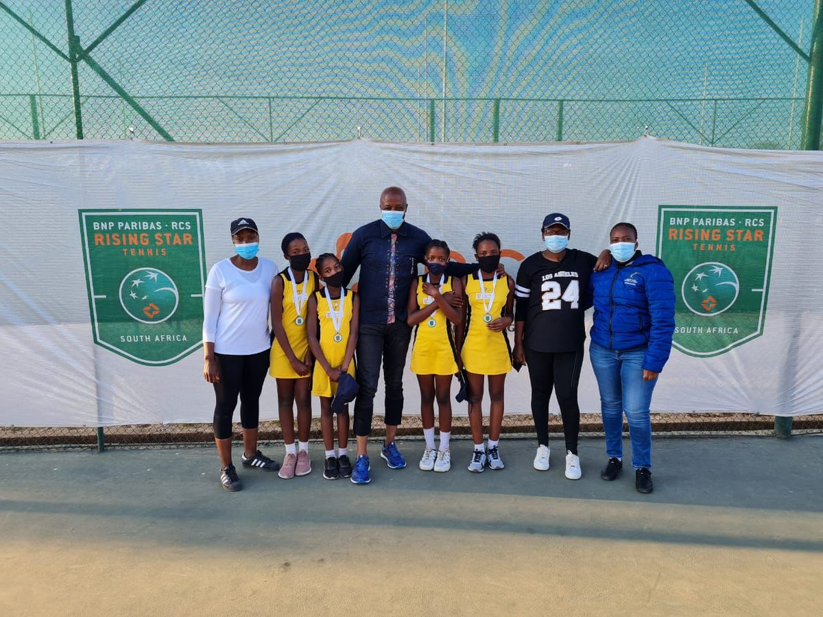 Congrats 👏 to Learskool Pietersburg Oos on winning the girls and boys Primary School titles at the Limpopo leg of the @BNPParibas @RCSGroup_ Rising Star Tennis. Hoerskool Pietersburg won the boys High School trophy. They will represent Limpopo in the national final.