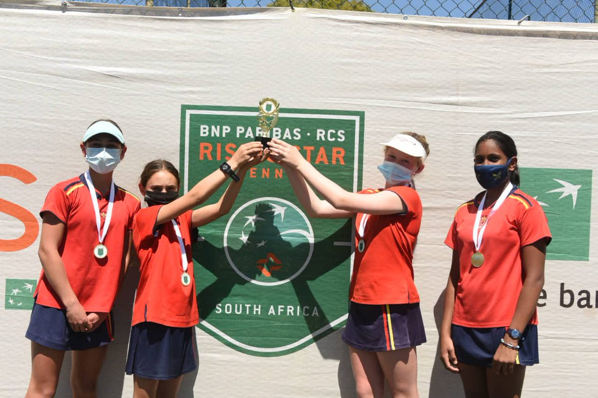 The Gauteng BNP Paribas RCS Rising Star Tennis provincial final has concluded at Groenkloof Tennis Club. Congrats to the winners👇 BOYS Primary School 🥇Midstream College High School 🥇St. Stithians College GIRLS Primary School 🥇St. Peters Prep High School 🥇St. Mary's Waverly