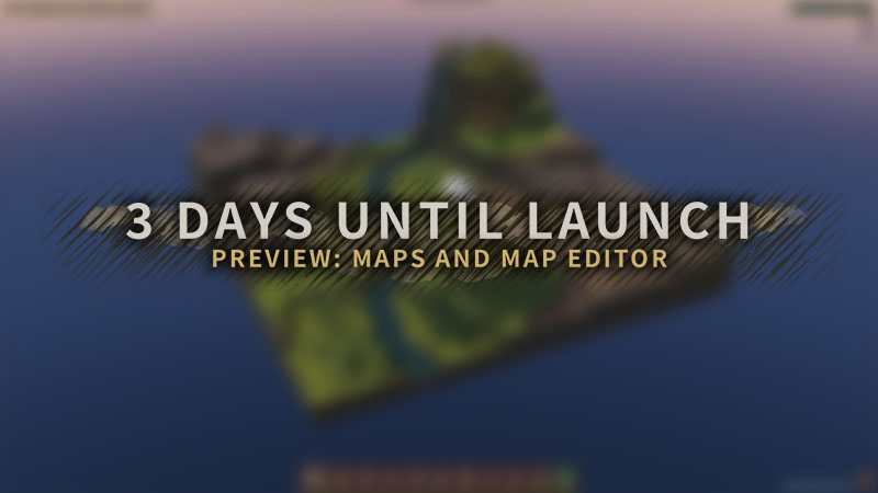 Timberborn Early Access launches in *3* days! 🤯 We'll have 9 ready to play maps, and you will be able to create many more using the included map editor. It's the same tool we use! 🗺 Read more here: store.steampowered.com/news/app/10620… #madewithunity #indiedev #gamedev #citybuilder