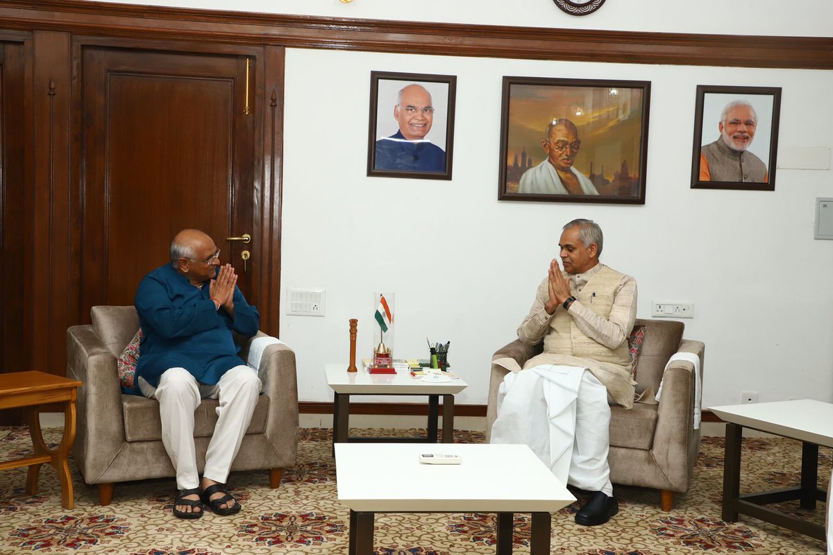 Bhupendra Patel stakes claim to form Government