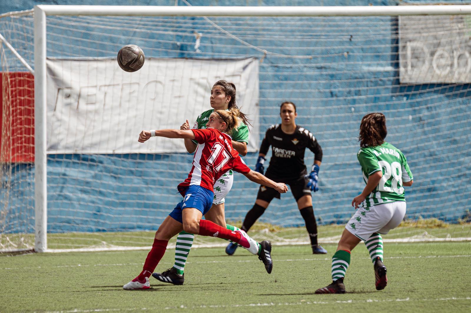 Real Unión de Tenerife resuelve a balón parado ante el Betis B (1-0)