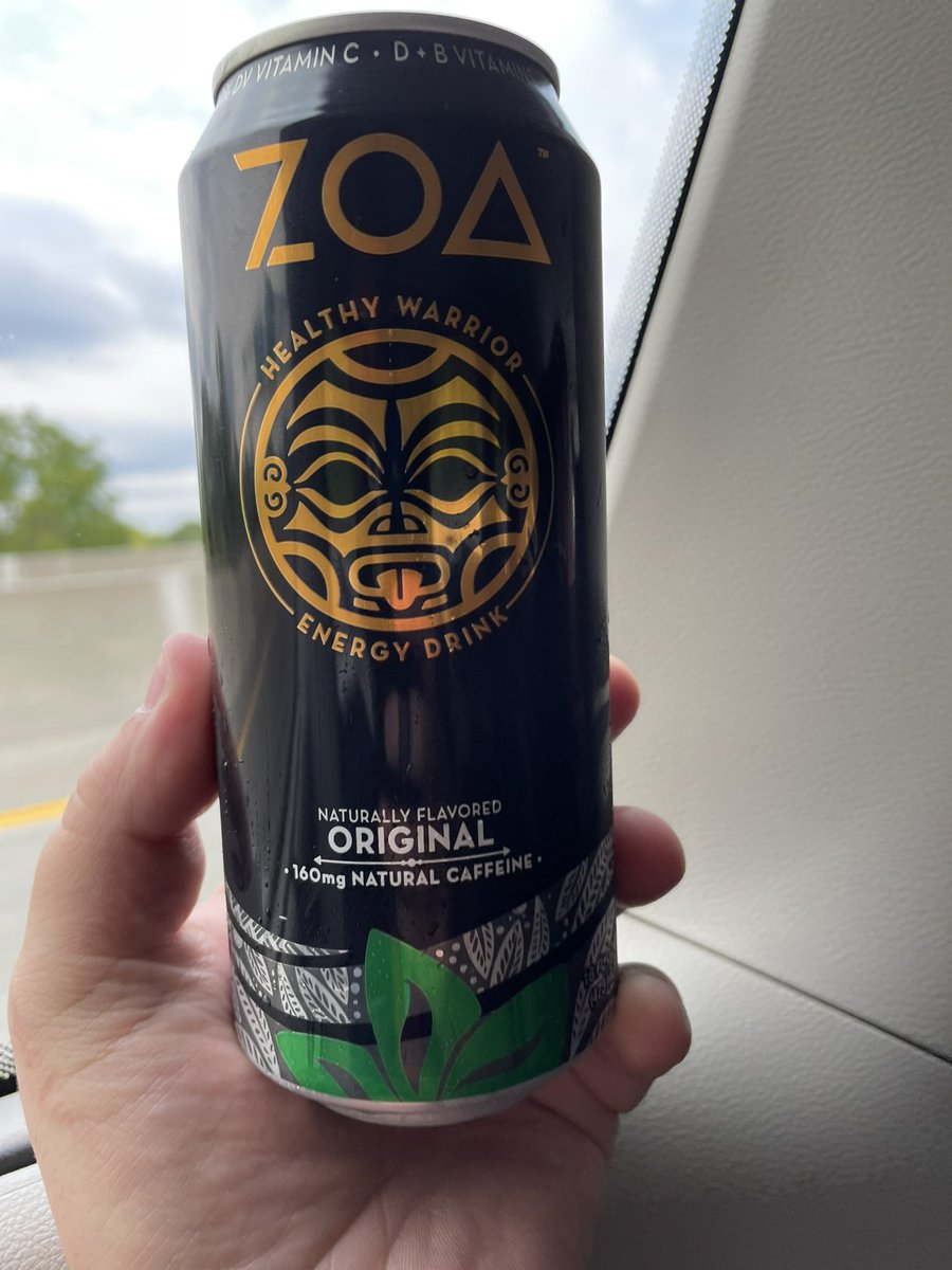 Great to hear this!  We put a lot of work into our healthy innovation of @ZOAenergy.  And we'll continue to work hard to deliver quality to you and and results for you!!!  Sip your ZO, now LFG!!!