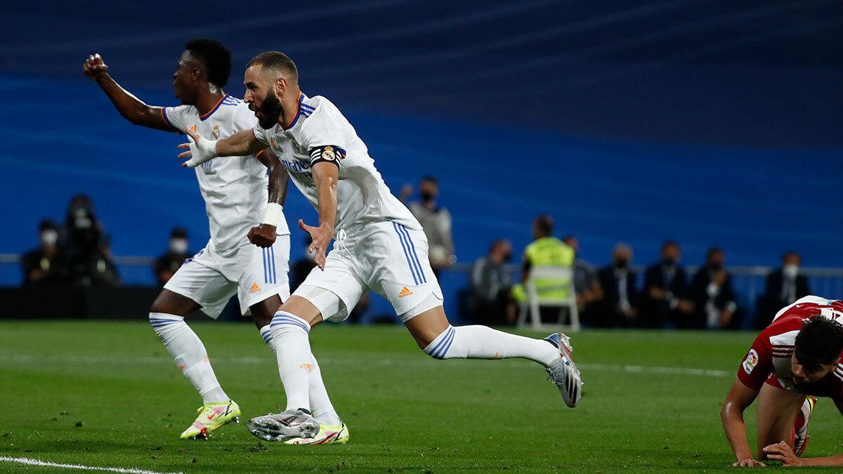 Real Madrid vs Celta 5-2 Liga Española 2021-2022
