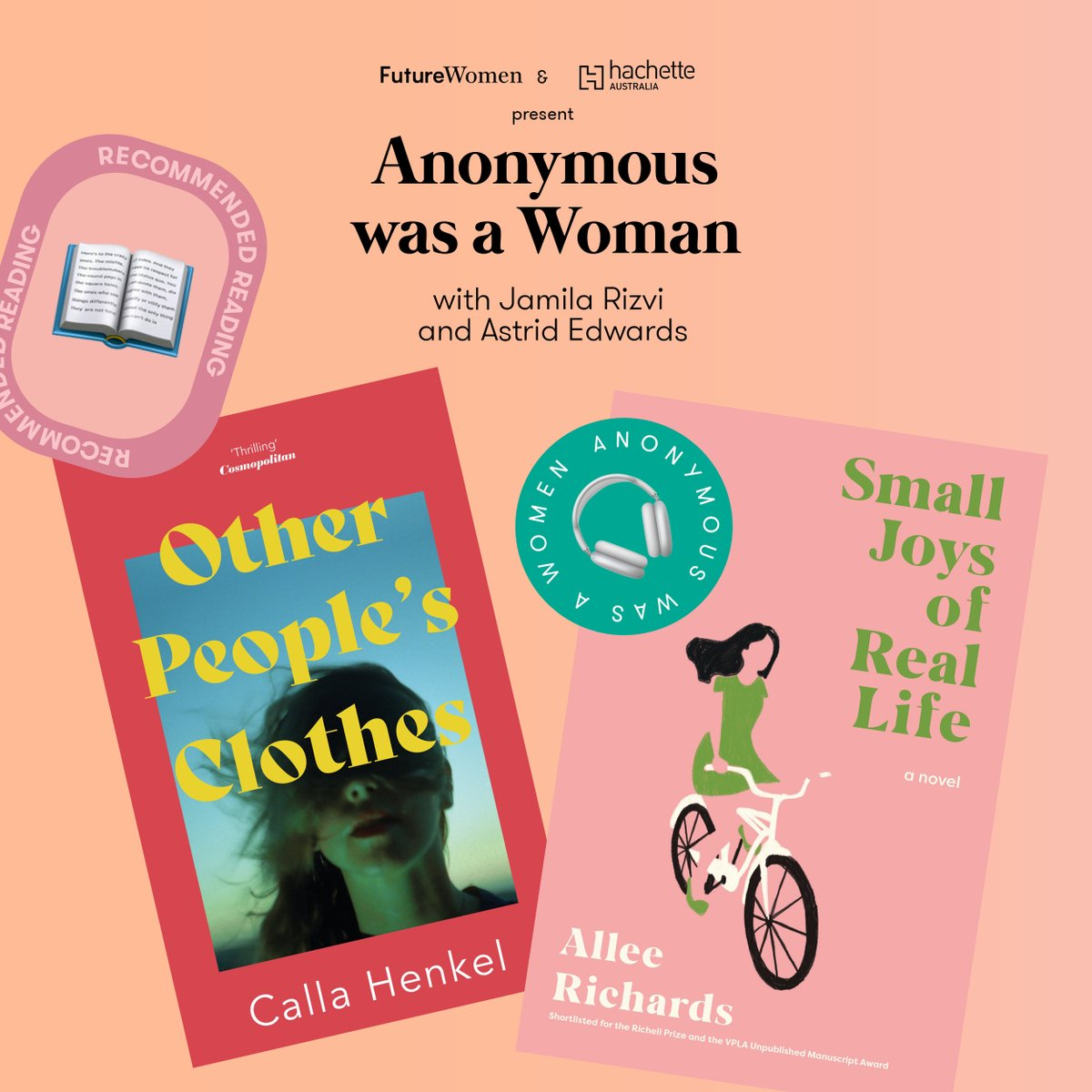 In today's episode of Anonymous Was A Woman, a compelling and incredibly timely discussion on the nature of doubt and hope, at a time when we're all questioning something. Listen now: apple.co/3A65HT3 @_AstridEdwards_ @helenmccabe @HachetteAus