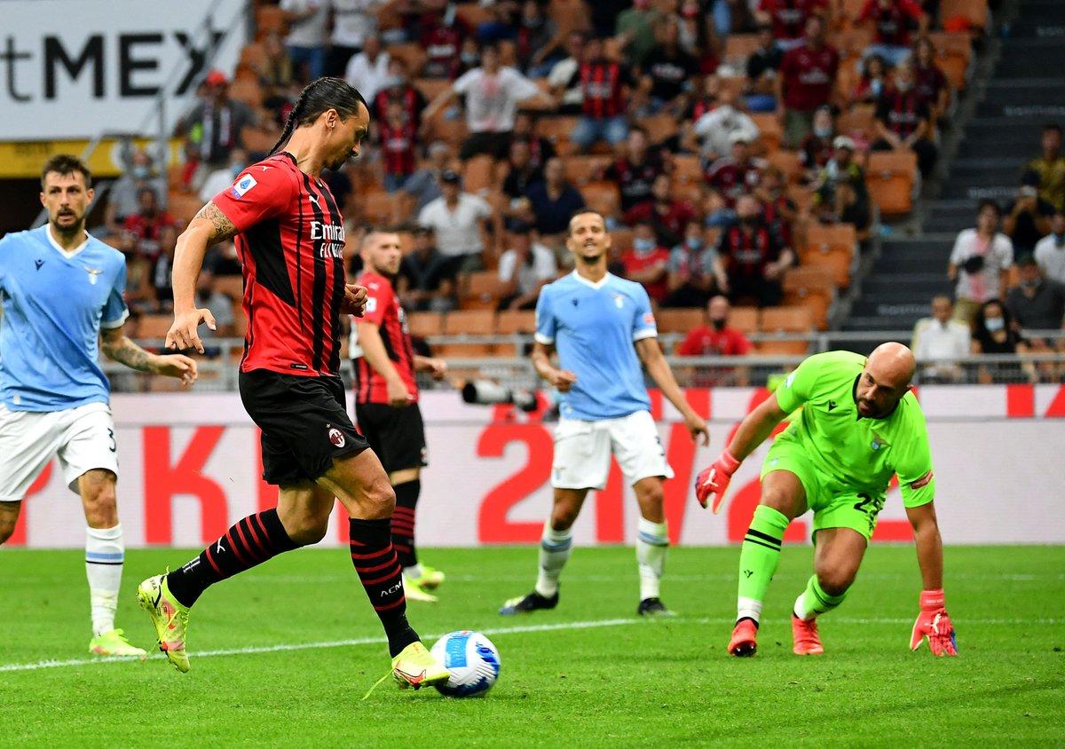 Galatasaray'ın Avrupa'daki rakiplerinden Lazio, Serie A'da ilk yenilgisini aldı Milan, sahasında ağırladığı Lazio'yu 2-0 yendi.