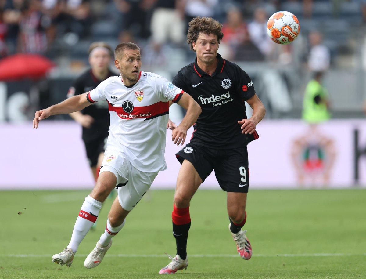 Eintracht Frankfurt, Fenerbahçe ile oynayacağı karşılaşma öncesinde Stuttgart ile 1-1 berabere kaldı.