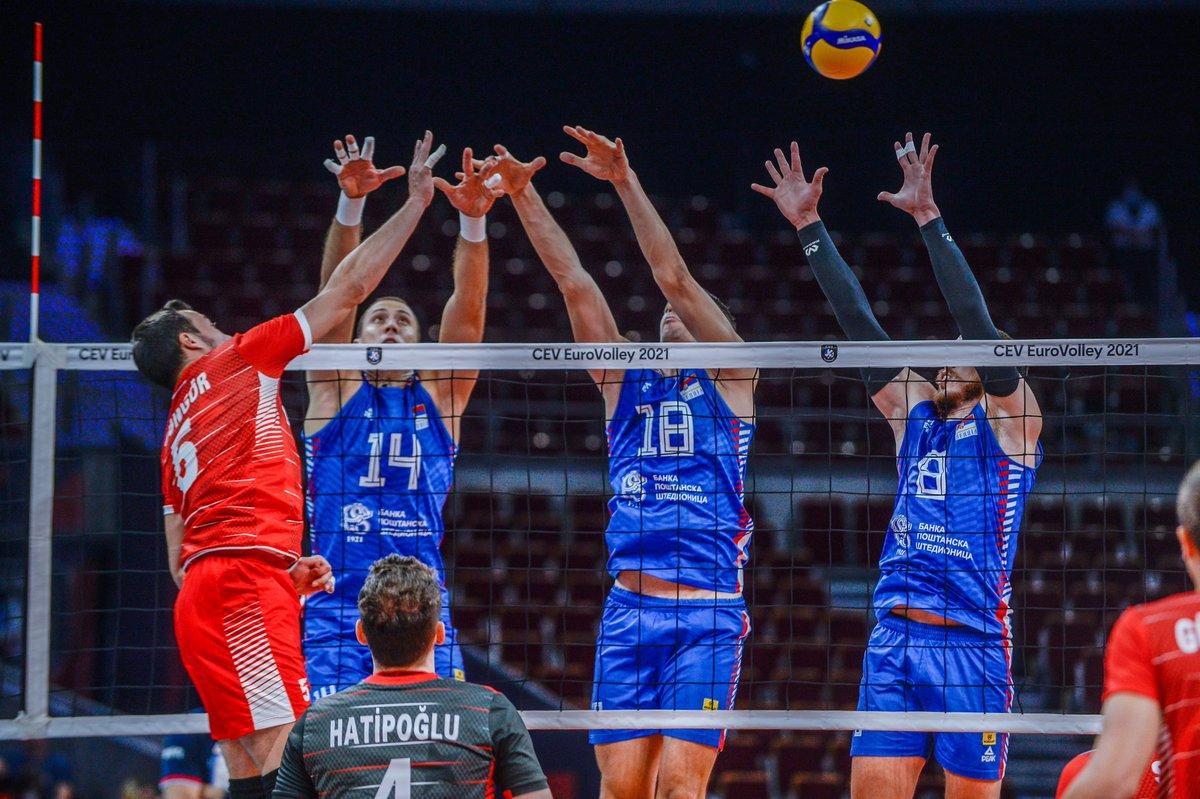 Filenin Efeleri,2021 CEV Avrupa Şampiyonası son 16 turunda karşılaştığı Sırbistan'a 3-2 mağlup olarak turnuvaya veda etti.