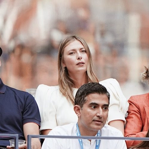 Familiar face in the crowd watching the men's final😉 📸: @usopen