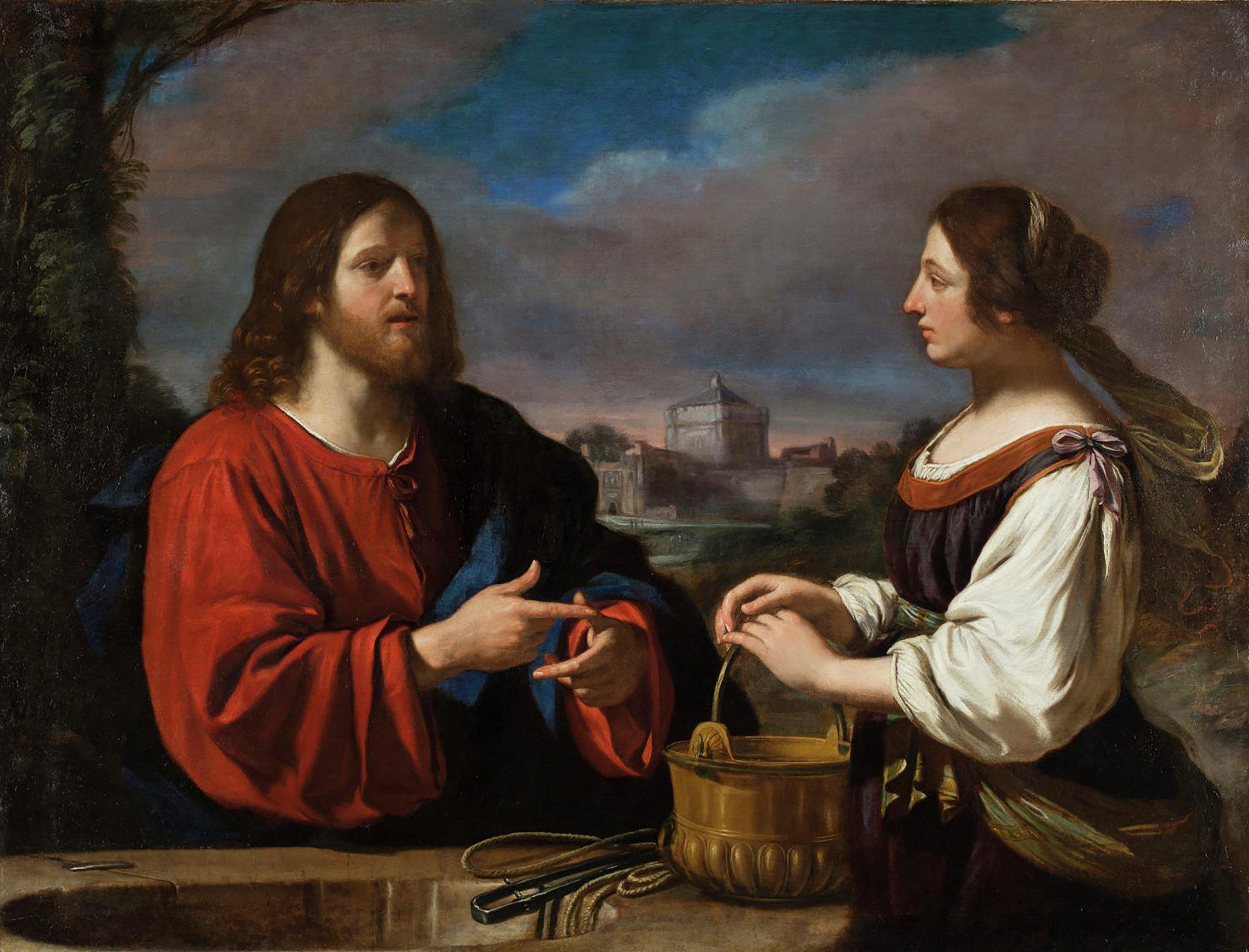 Jesus Cristo e a samaritana