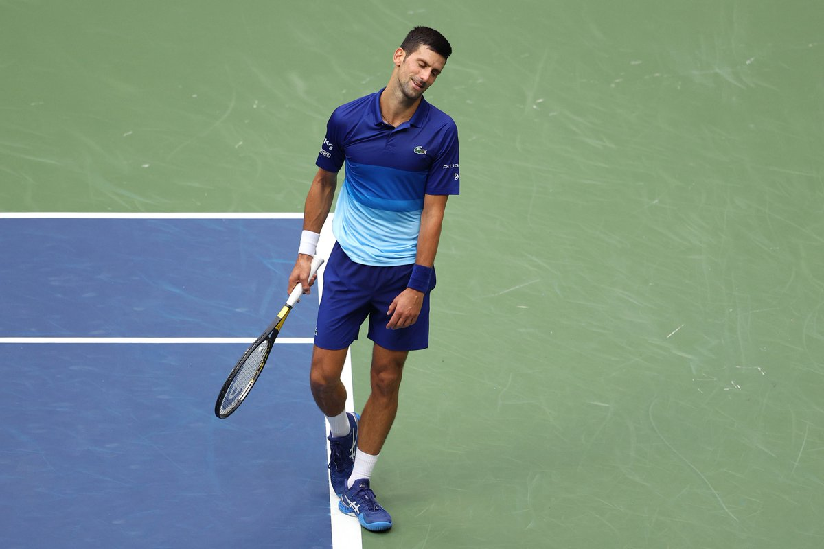 ABD Açık'ta tek erkeklerde Djokovic'i devirenDaniil Medvedev şampiyon oldu! ABD Açık Tenis Turnuvası tek erkekleri finalini, Sırp rakibi Novak Djokovic'i yenen Rus tenisçiDaniil Medvedev kazandı. #USOpen