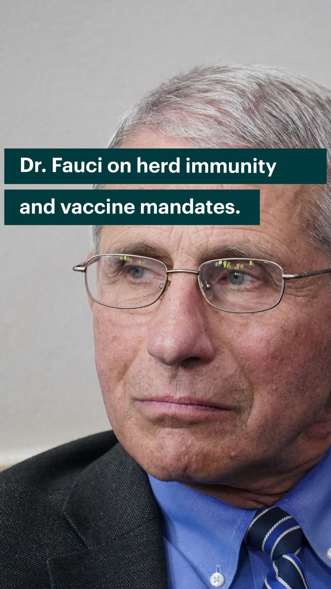 Fauci: We're Going to 'Mandate' CV Shots if 'Hardcore Group' of Holdouts Are Not 'Persuaded' to Submit E_HzIGNX0AILBBj