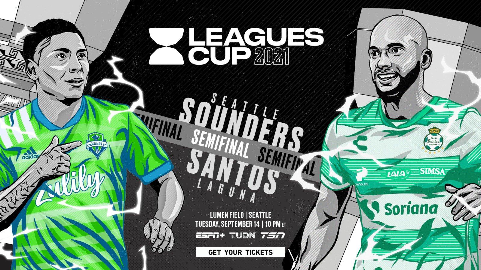 Santos vs Seattle Sounders