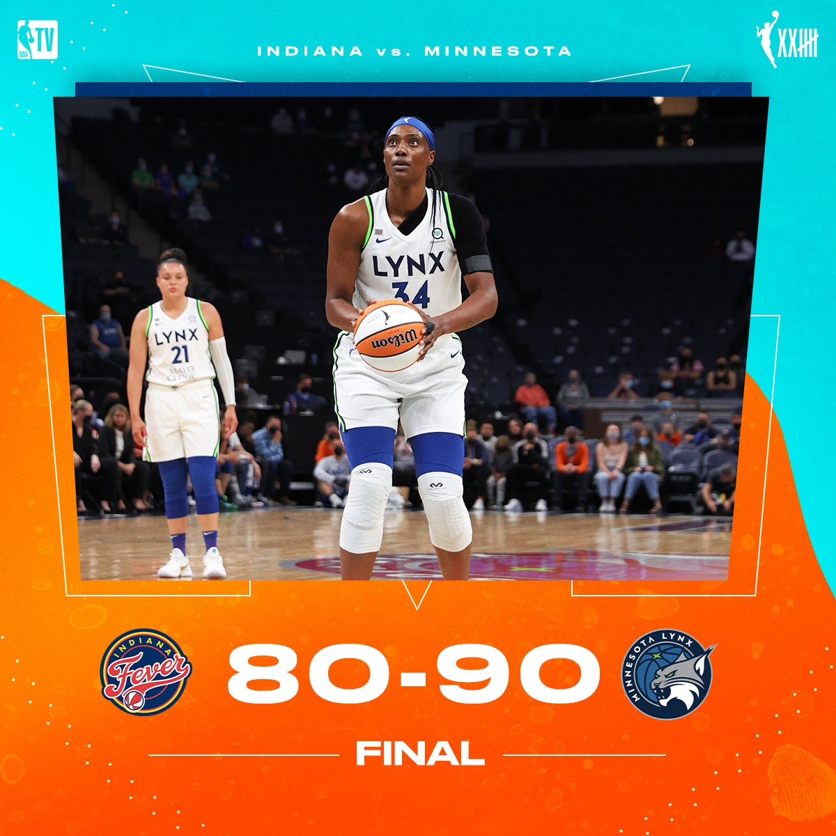The @minnesotalynx take control in the second half for the W 💪