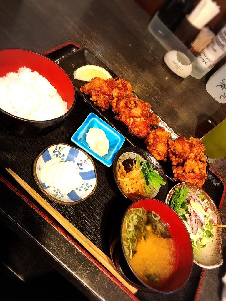 漁師のあぶり家@江古田 超巨大な唐揚げ定食♡  #tabelog